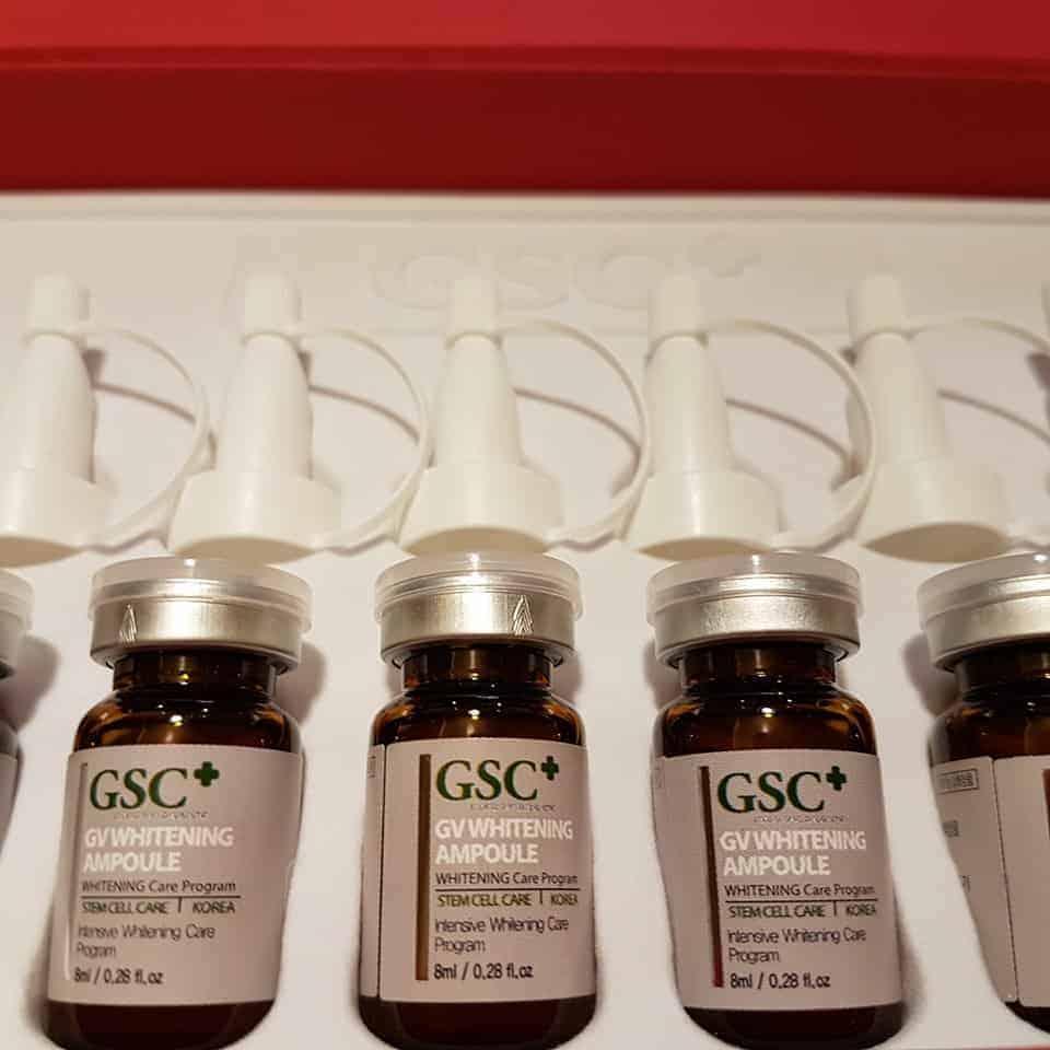 Tế bào gốc GSC trị nám