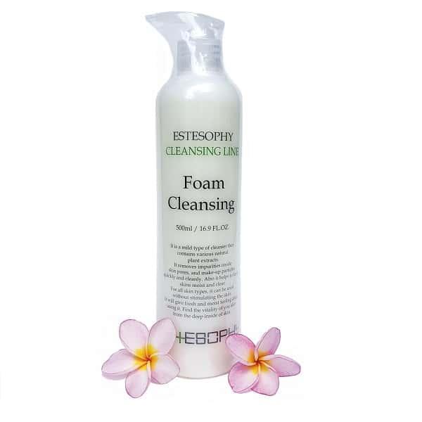 Sửa rửa mặt tạo bọt estesophy