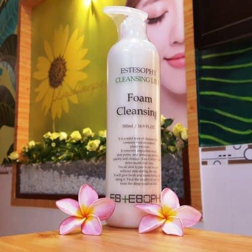 Sữa rửa mặt tạo bọt EsteSophy Foam Cleansing 500ml