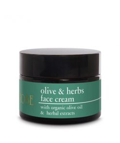 Kem dưỡng da giữ ẩm Yellow Rose từ Olive - OLIVE & HERBS FACE CREAM