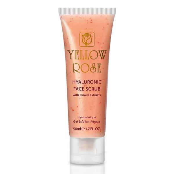 Tẩy tế bào chết từ Axit Hyaluronic Yellow Rose- HYALURONIC FACE SCRUB