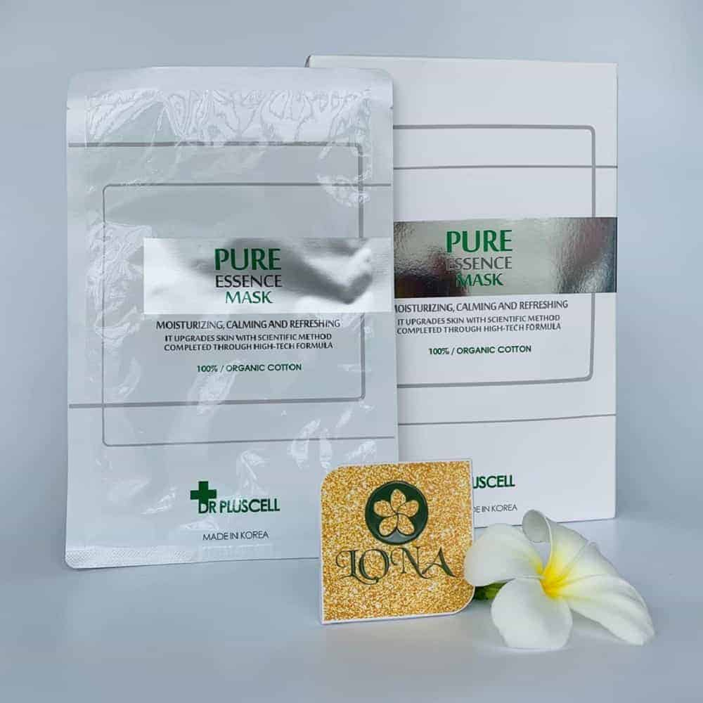 mặt nạ pure essence mask dr pluscell
