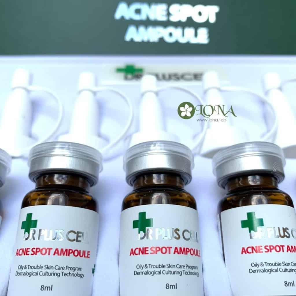 Dr Plus Cell Acne Spot Ampoule (Bộ 10 lọ)