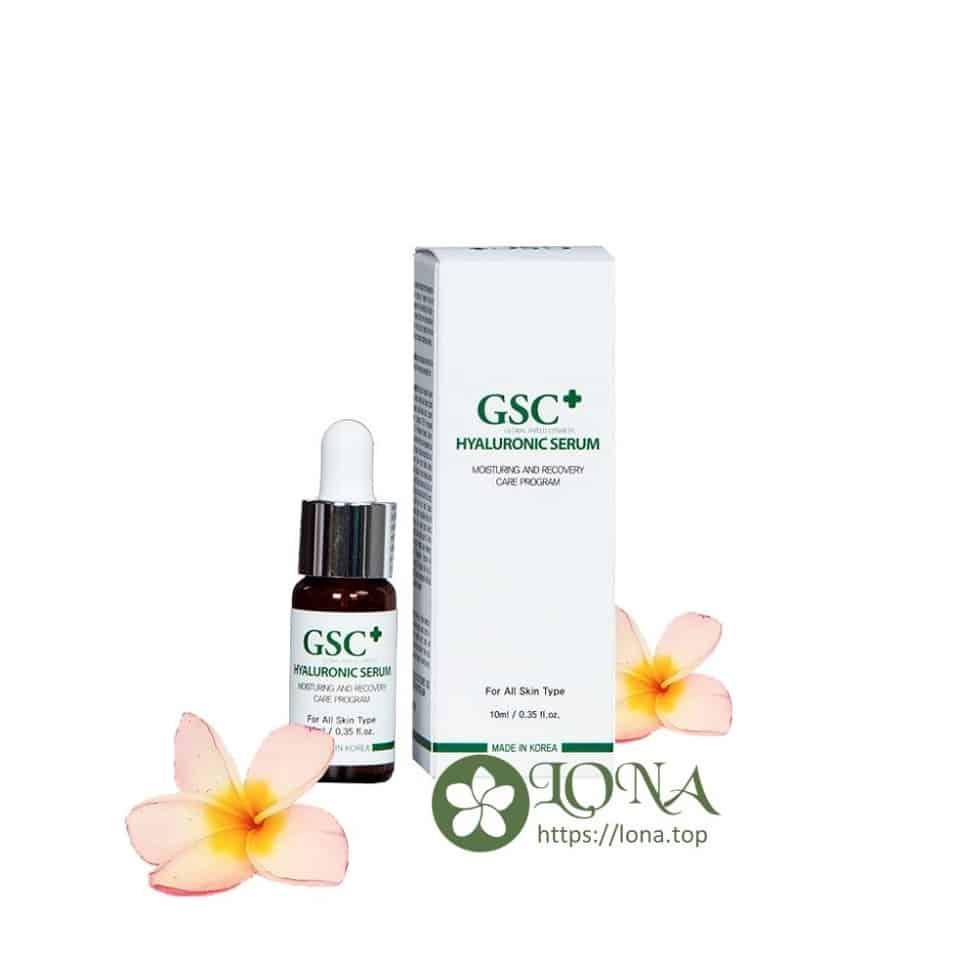 GSC Hyaluronic Serum tinh chất dưỡng ẩm tối ưu cho mọi loại da