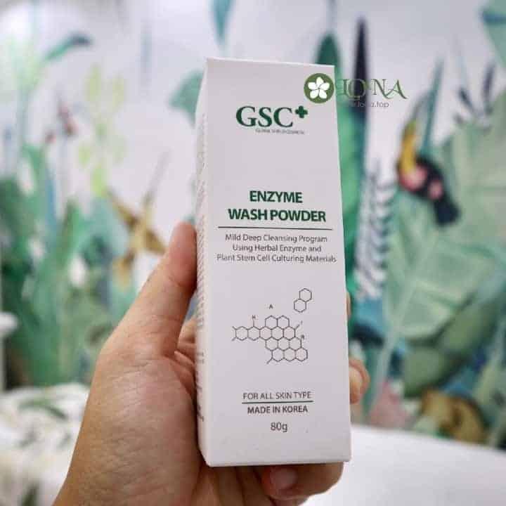 Sữa Rửa Mặt Dạng Bột GSC Enzyme Wash 80g