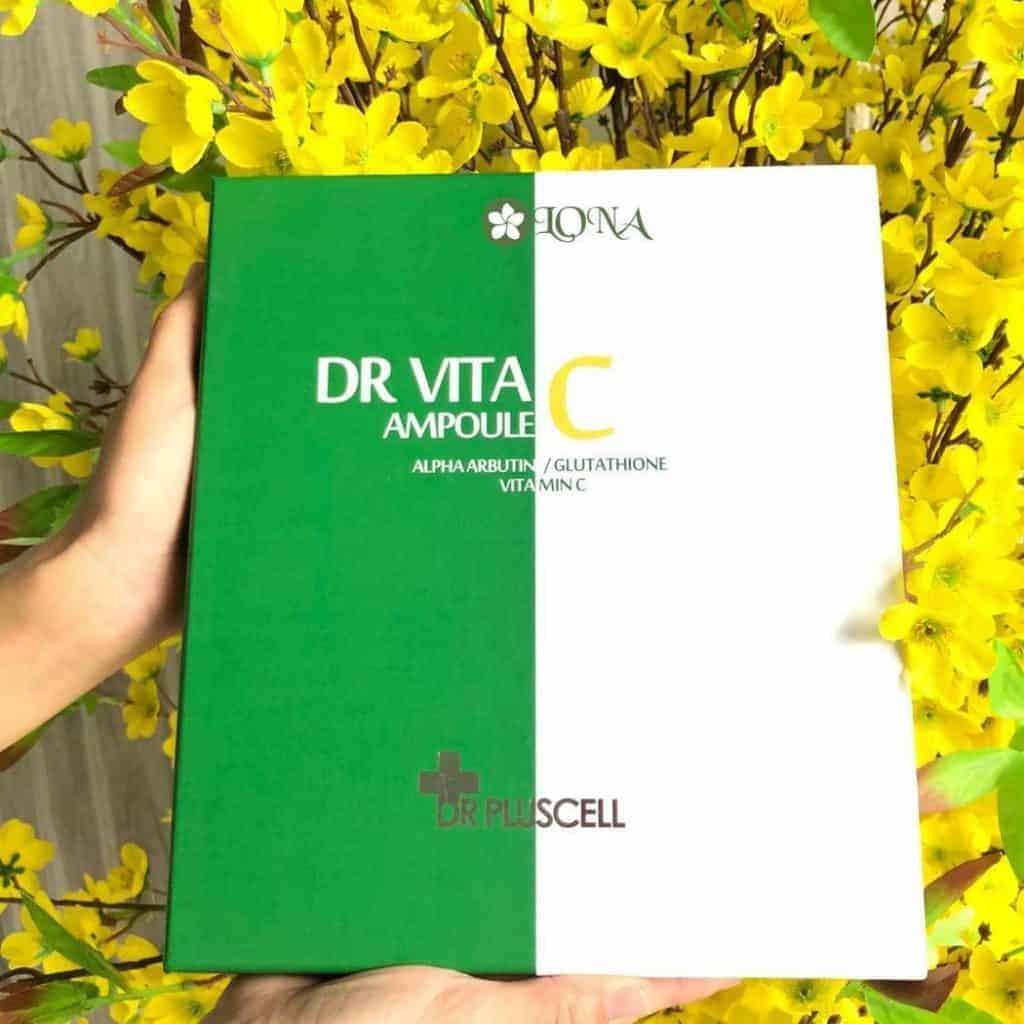 Dr Vita Trị Nám Ampoule Dr Pluscell ( Full box)