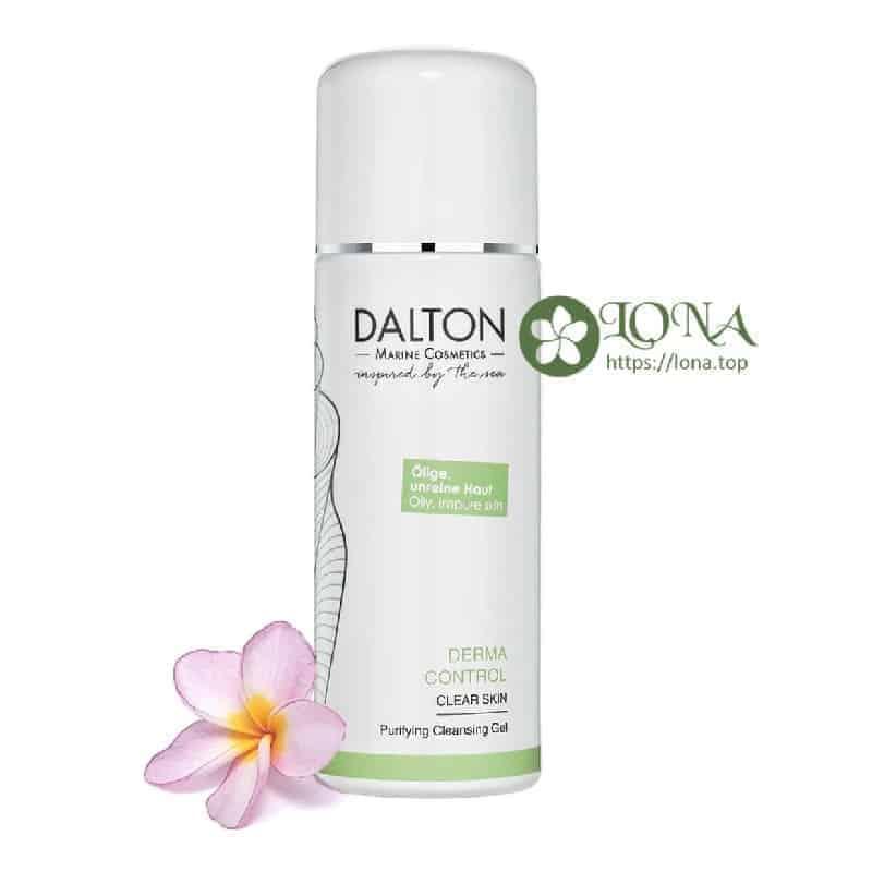 Sữa rửa mặt dành cho da dầu mụn DERMA CONTROL - PURIFYING CLEANSING GEL có mặt tại Lona.top