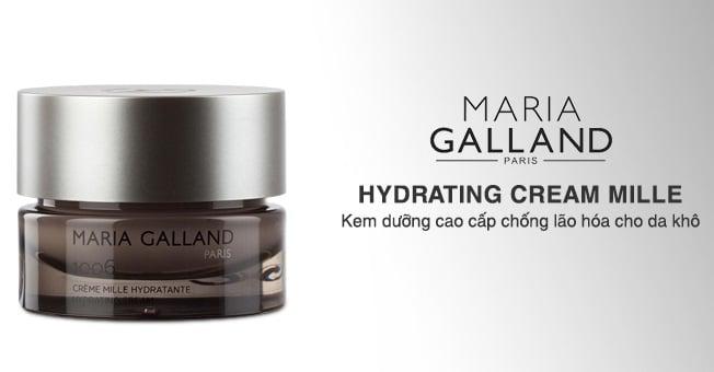 Dưỡng ẩm chuyên sâu, xóa nếp nhăn hiệu quả nhờ kem dưỡng ẩm cao cấp Maria Galland Luxury Hydrating Cream 1006.