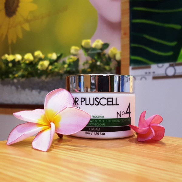 Sản phẩm dưỡng trắng Dr Pluscell giúp bật tone cho làn da sẫm màu.