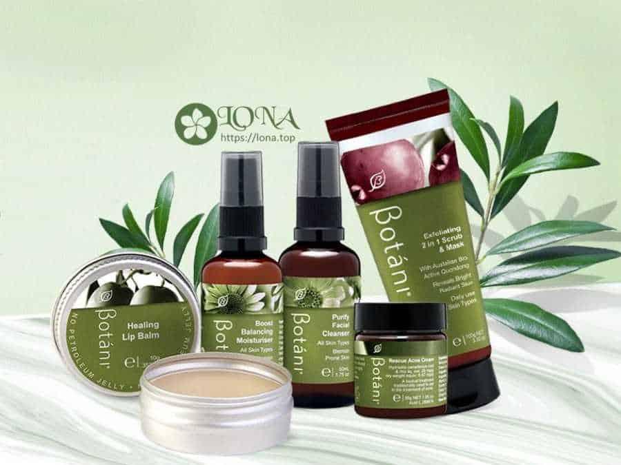 Mặt Nạ Botani và một số mỹ phẩm hữu cơ Botani khác