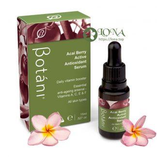 Serum Botani Acai Berry tăng cường chống lão hoá và sáng da