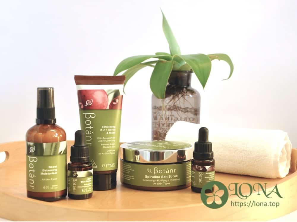 Serum Botani Olive và các sản phẩm khác