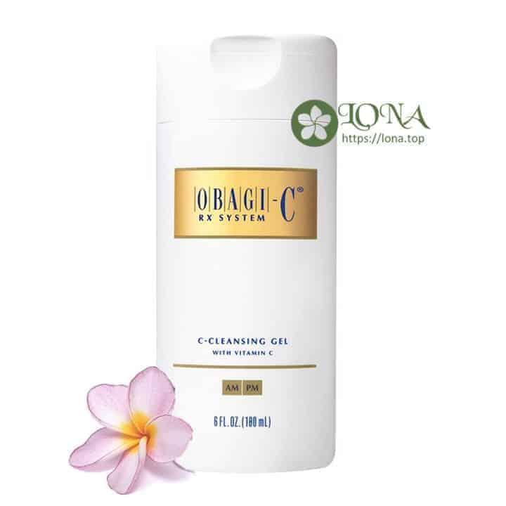 Sửa rửa mặt dang gel Obagi lấy sạch những bụi bẩn chất nhờn cho da