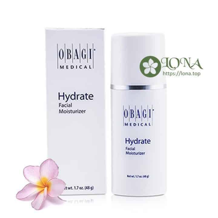 Obagi Hydrate Facial Moisturizer giữ cho làn da luôn ẩm mượt