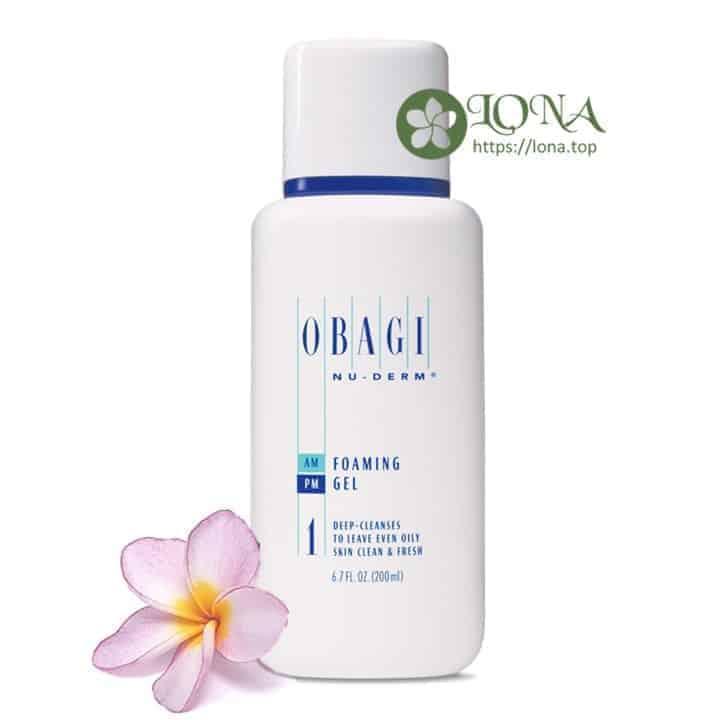 Sữa rửa mặt Obagi Foaming Gel giúp làn da luôn sạch khỏe