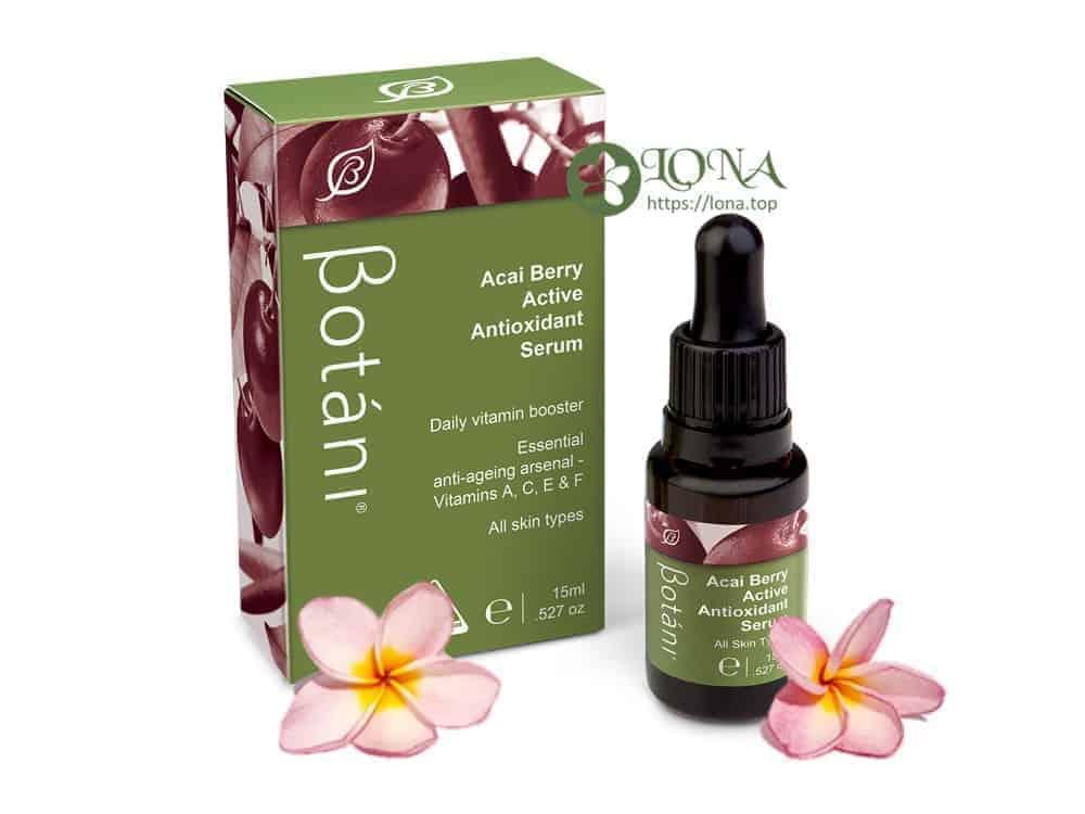 review serum botani