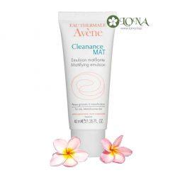 Cleanance Mat Mattifying Emulsion Avène giúp giảm bóng nhờn