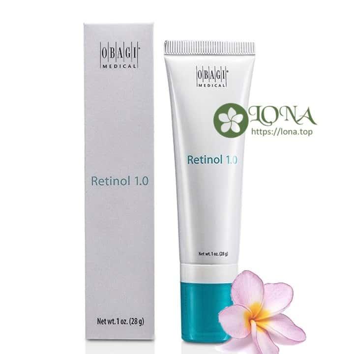 Obagi Retinol 1.0 với những công dụng đáng gờm cho làn da phái đẹp