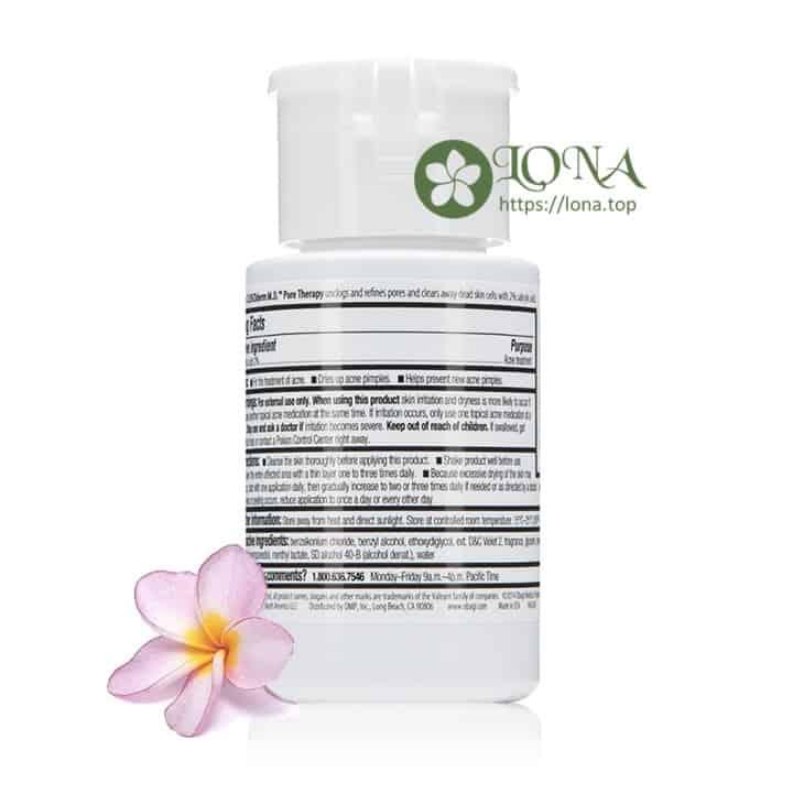 Obagi Clenziderm MD Pore Therapy trị mụn làm sạch da