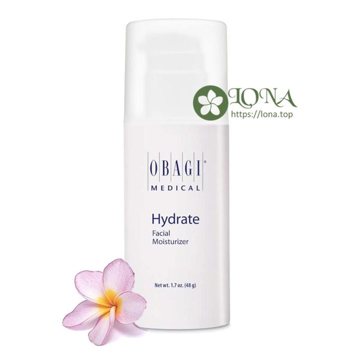 Với bảng thành phần ưu việt từ các loại thực vật, Obagi Hydrate Facial Moisturizer nuôi dưỡng làn da từ sâu bên trong