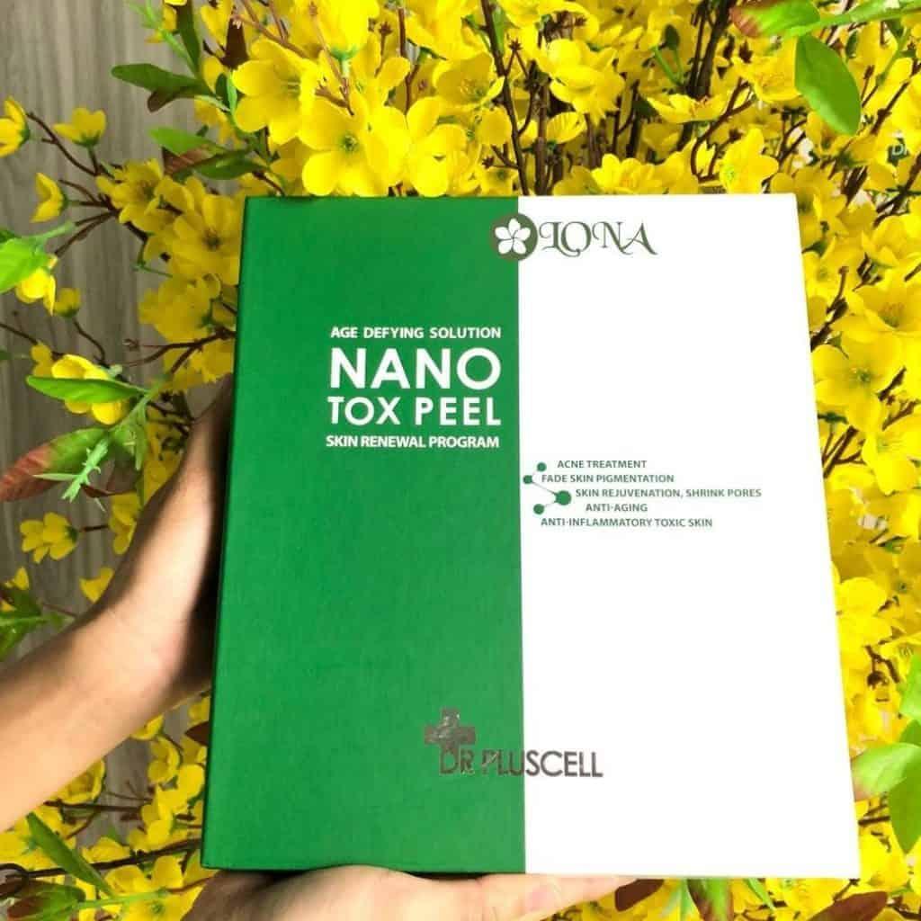 Vi Tảo Nano Peel Dr Pluscell