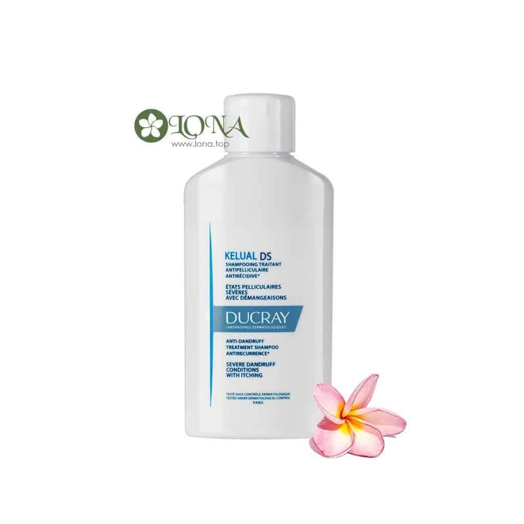 Kelual DS Ducray Shampoo làm sạch gàu hiệu quả