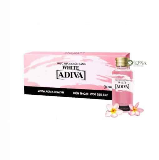 Adiva White dạng nước giúp dưỡng trắng da (hộp 14 lọ)