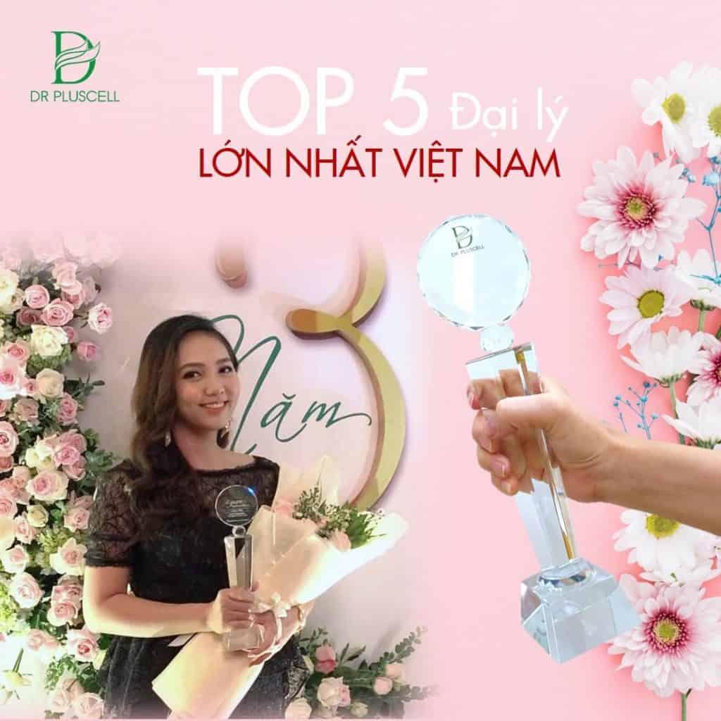 Hình top 5 nhà phân phối Dr PlusCell lớn nhất Việt Nam