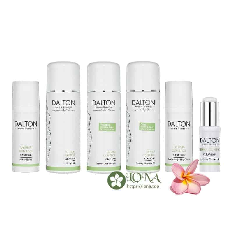 Tham khảo trọn bộ dòng sản phẩm Derma Control mới ra mắt của Dalton