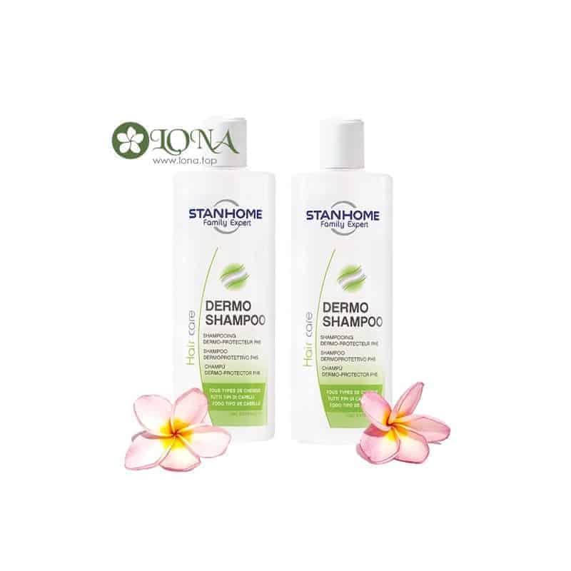 bo-2-dermo-shampoo-dau-goi-khong-xa-phong-ph5-400ml