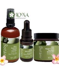 bộ sản phẩm dưỡng và phục hồi chuyên sâu cho da khô, nhạy cảm Botani