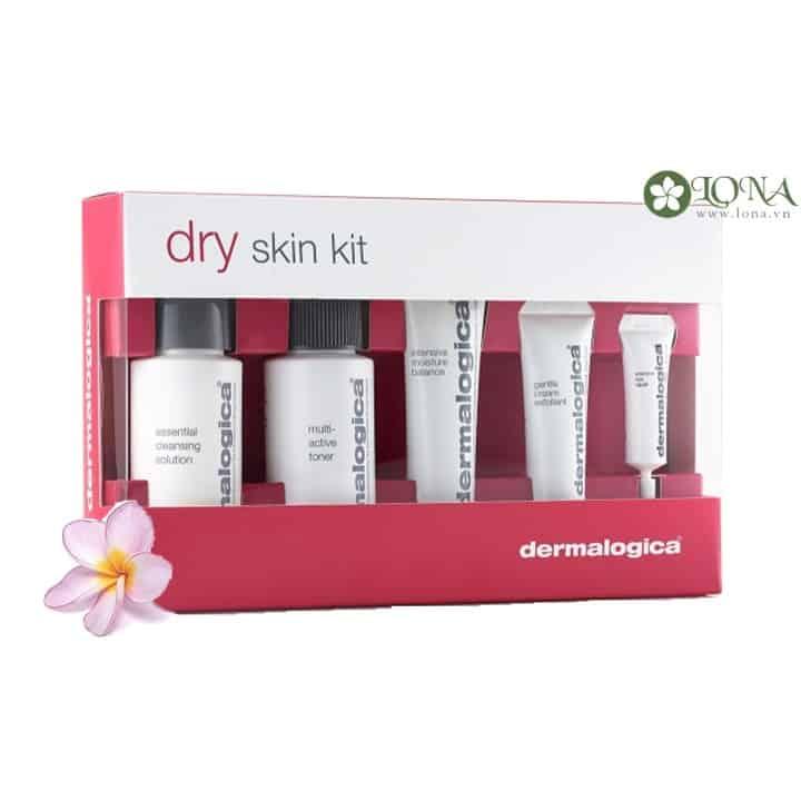 Bộ dưỡng da Dry Skin Kit Dermalogica