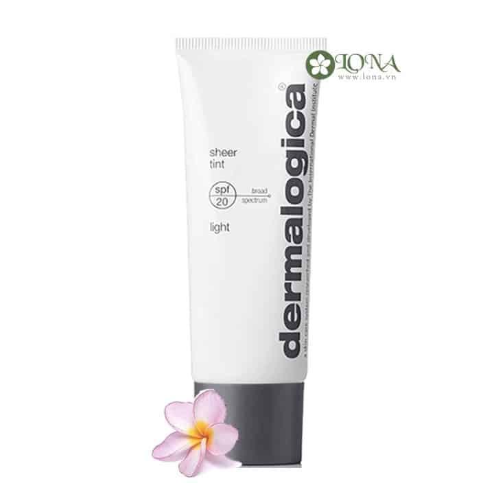 Dermalogica Sheer Tint Light SPF 20 kem nền Dermalogica (Tông Màu Sáng)
