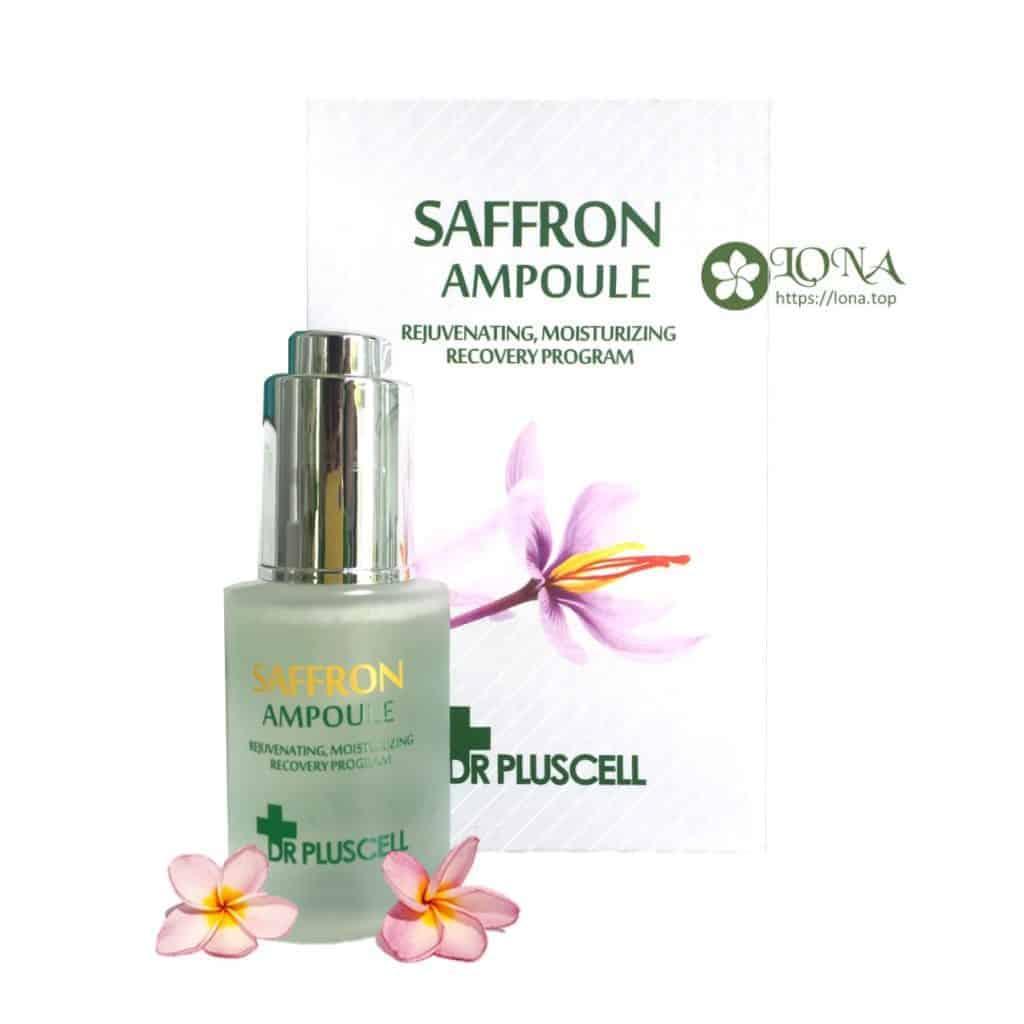 dr pluscell serum saffron ampoule